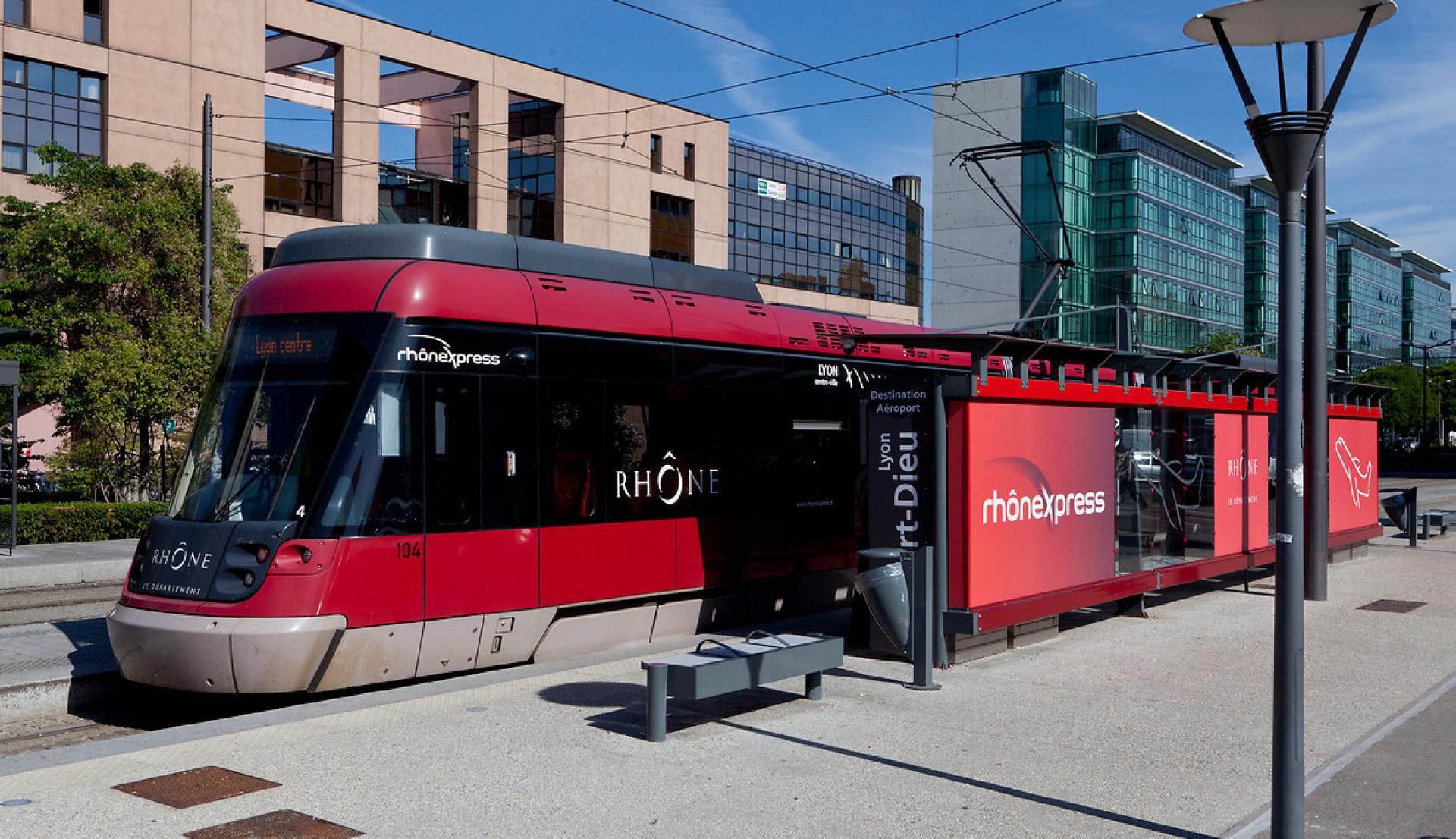 Rhônexpress, the tram driving momentum in Lyon
